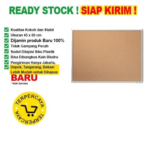 Papan Pin Board / Soft Board SAKANA Polos 45x60