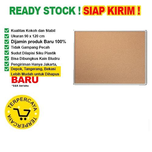 Papan Pin Board / Soft Board SAKANA 90x120 Polos