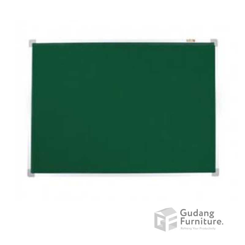 Softboard Keiko Gantung Bludru Uk 60 x 120