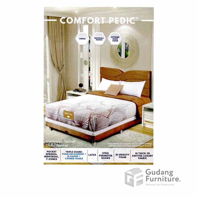 Spring Bed Comforta Comfort Pedic Mattress Only (180 x 200 cm)